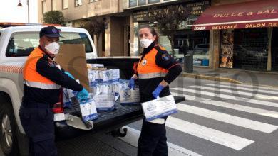 Photo of Protección Civil do Barco reparte alimentos a varias familias coa colaboración de Cáritas
