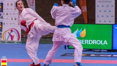 Photo of Novo podio para Lucía Herrero Valcarce na súa segunda final nunha liga nacional de karate