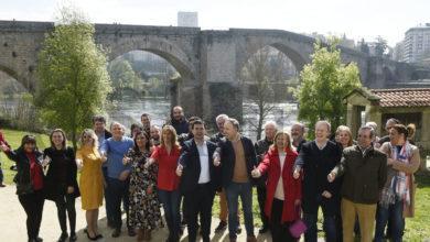 """Photo of Gonzalo Caballero: """"Estase a mobilizar o electorado progresista e imos acadar un vento de cambio nas eleccións galegas"""""""