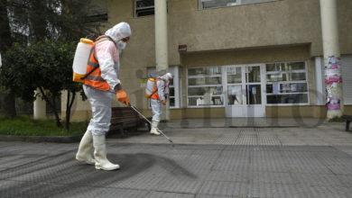 Photo of Realízanse tarefas de desinfección en diversos puntos do Barco
