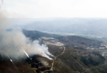 Photo of Incendio forestal en San Vicente de Leira (Vilamartín)