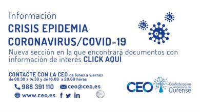 Photo of Os departamentos xurídico e de prevención de riscos laborais da CEO atenden multitude de cosuntas ante a crise do coronavirus