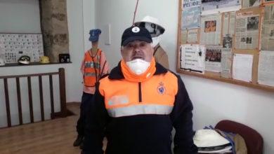 """Photo of Dende Protección Civil da Rúa lembran a recomendación de """"quedar na casa"""""""