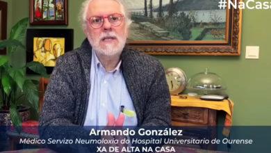 Photo of Armando González, un dos primeiros pacientes ingresados en Ourense por coronavirus, xa superou a enfermidade
