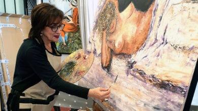 Photo of Menchu Abril expón no Liceo de Ourense unha colección de óleos adicada á muller