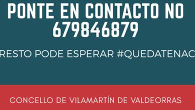 Photo of O Concello de Vilamartín habilita un número de teléfono para axudar a persoas con necesidades especiais