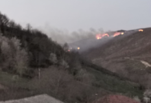 Photo of Incendio forestal en Pentes (A Gudiña)