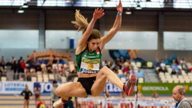 Photo of A valdeorresa Leticia Gil, bronce en lonxitude no campionato de España de pista cuberta