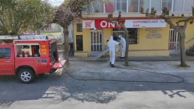 Photo of Parada de Sil desinfecta os lugares máis concorridos do municipio
