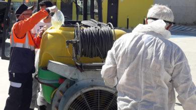 Photo of Vídeos da desinfección na Rúa coa colaboración de agricultores, viticultores e Protección Civil