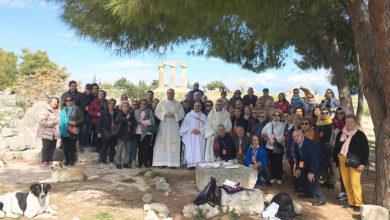 Photo of Un grupo de ourensáns peregrinan a Grecia seguindo a ruta de San Pablo