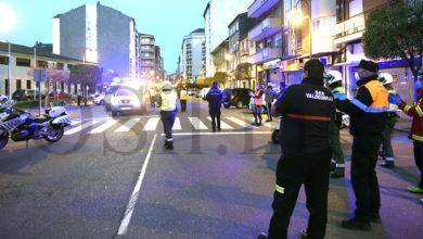 Photo of Imaxes da emotiva homenaxe dos servizos de emerxencias e das forzas e corpos de seguridade do Barco ao persoal do Hospital Valdeorras