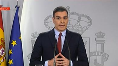 Photo of Sánchez dá a coñecer as medidas do decreto que declara o estado de alarma en España