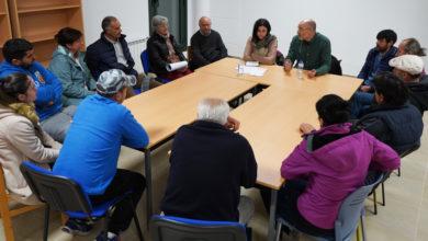 Photo of A cabeza de lista do BNG por Ourense, Noa Presas, reúnese en Viana con representantes do sector primario