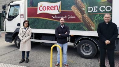 Photo of O comedor social de Cáritas en Ourense recibe 600 quilos de produtos frescos donados por Coren