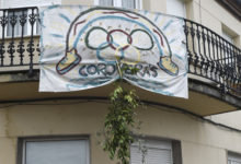 Photo of Unha singular mensaxe de ánimo, en Petín