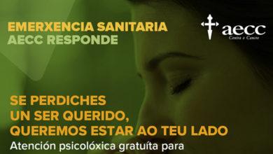 Photo of A AECC de Ourense ofrece de forma gratuíta atención psicolóxica á dó a familias afectadas polo coronavirus