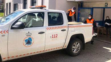 Photo of Protección Civil do Barco reparte entre traballadores esenciais material protector elaborado por voluntarios do municipio