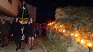 Photo of Os caracois ardendo non iluminarán esta noite de Venres Santo a vila do Castro (O Barco)