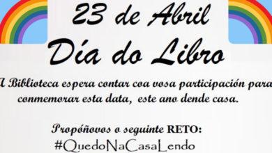 """Photo of A Biblioteca da Rúa lanza un """"reto"""" para celebrar dende casa o Día do Libro"""