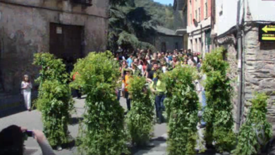 Photo of Vilafranca (O Bierzo) cumprirá co ritual da Festa do Maio, pero de forma simbólica e virtual neste ano