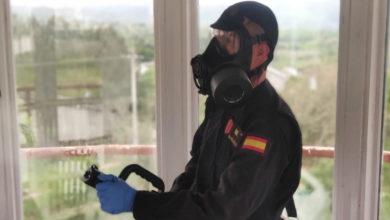 Photo of A UME realiza labores de desinfección no Centro Penitenciario de Pereiro de Aguiar