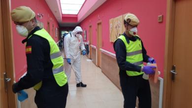 Photo of A UME volve despregarse na provincia de Ourense para realizar labores de desinfección