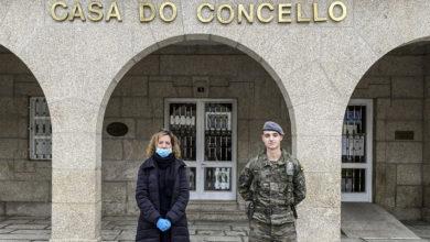 Photo of O Exército de Terra desprégase en Verín para reforzar a seguridade na fronteira con Portugal