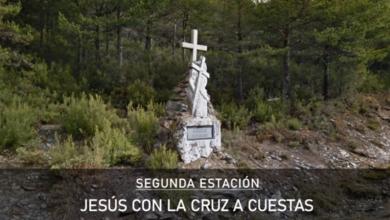 Photo of Un Via Crucis da Serra simbólico e cheo de recordos e agradecementos neste Xoves Santo