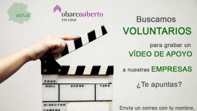 Photo of AEVA e O Barco CCA buscan voluntarios para un vídeo de apoio ás empresas de Valdeorras