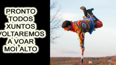 """Photo of """"Voltaremos!"""", a mensaxe de ánimo feita vídeo e música do vianés Carlos X. Ares"""