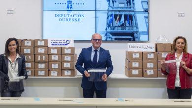 Photo of A Federación de Comercio de Ourense recibe 3.800 pantallas faciais donadas por Asime e a Universidade de Vigo