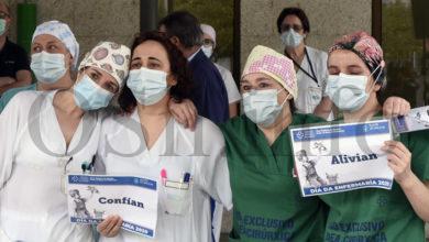 Photo of A enfermería barquense pídelle á cidadanía que non baixe a garda contra o Covid-19
