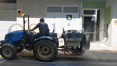 Photo of Nova desinfección integral do municipio da Rúa por parte de adegueiros e agricultores