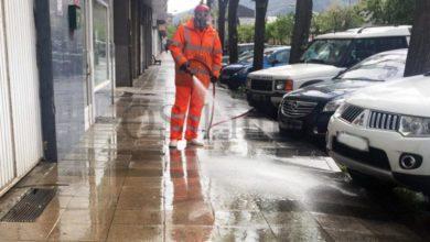 Photo of O Concello do Barco intensifica os traballos de desinfección en zonas comerciais