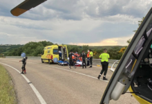 Photo of Un motorista resulta ferido nun accidente na OU-533, na Gudiña