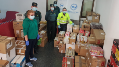 Photo of Gardas civís e funcionarios destinados na provincia doan 2.500 quilos de alimentos