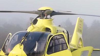 Photo of Un veciño de Ribas de Sil, trasladado en helicóptero tras cortarse coa máquina que manexaba