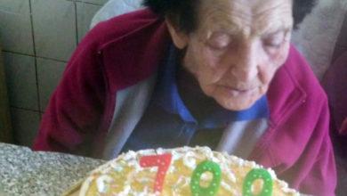Photo of Teresa celebra o seu centenario en Cernado (Manzaneda) neste Día da Nai