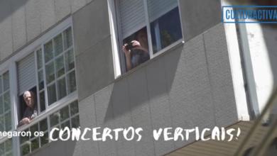 Photo of A estrea dos concertos verticais da Fanfarria Taquikardia no Barco, nun vídeo