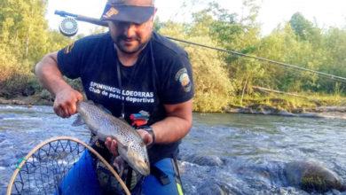 Photo of A tempada de pesca 2020 comeza con boas capturas no río Sil