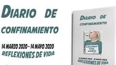 """Photo of Javier García pon en marcha o proxecto de edición de """"Diario de confinamiento"""""""