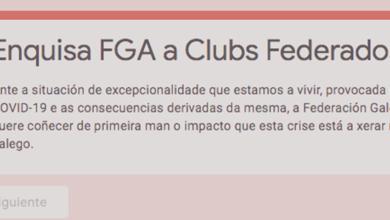 Photo of A Federación Galega de Atletismo pulsa a situación dos seus clubs