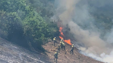 Photo of O incendio de Córgomo (Vilamartín), en imaxes