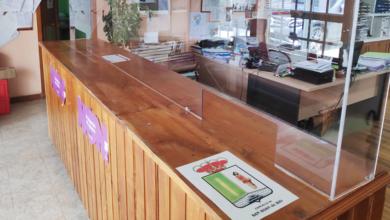 Photo of Río instala mamparas de protección no Concello para preparar a súa reapertura ao público