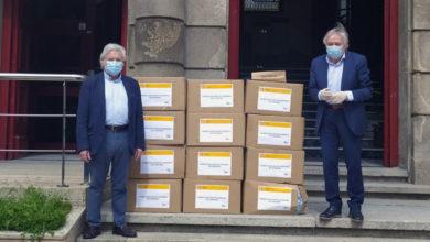 Photo of A Subdelegación do Goberno entrega mascarillas á Deputación para a súa distribución nos concellos