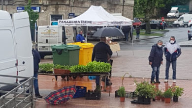 Photo of O primeiro mercado ao aire libre en Sober tras ser decretado o estado de alarma