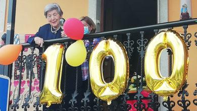 Photo of A petinesa Inés Siso celebrou o 1 de maio o seu 100 aniversario, na casa, pero por todo o alto