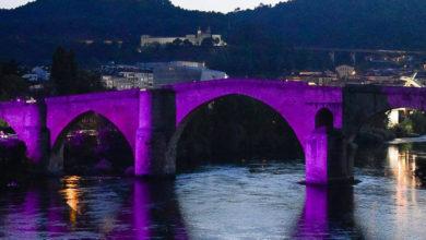 Photo of A Ponte Romana de Ourense tinguirase de morado polo Día Mundial da Enfermidade Inflamatoria Intestinal