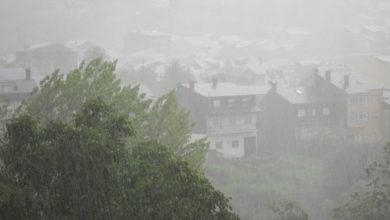 Photo of Aviso amarelo por tormentas na provincia de Ourense para esta tarde